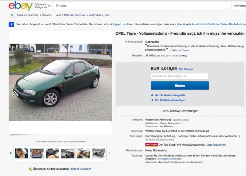 Η αγγελία για την πώληση αυτοκινήτου που ράγισε καρδίες!