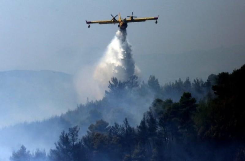 Μεγάλη πυρκαγιά ξέσπασε στη Μυτιλήνη!