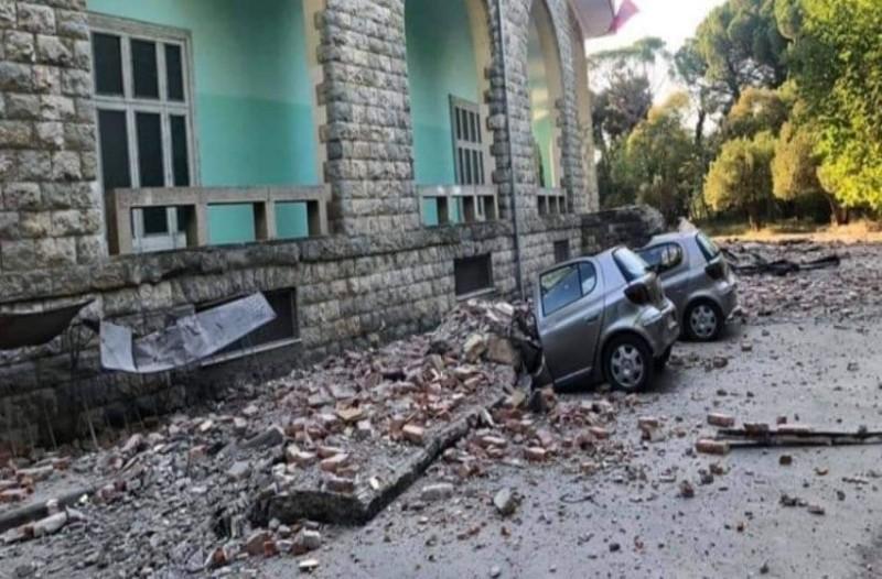 Χάος στην Αλβανία: Αυτοκίνητο κόπηκε στα δύο  από τον ισχυρό σεισμό! (photo-video)
