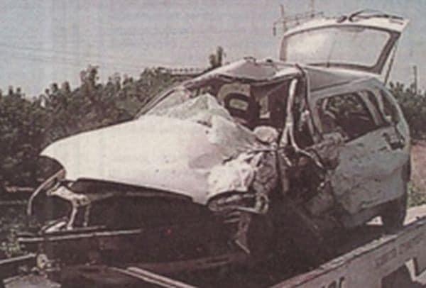 Σκοτώθηκε σε τροχαίο ο Γιώργος Μητσιμπόνας! 22 χρόνια από την
