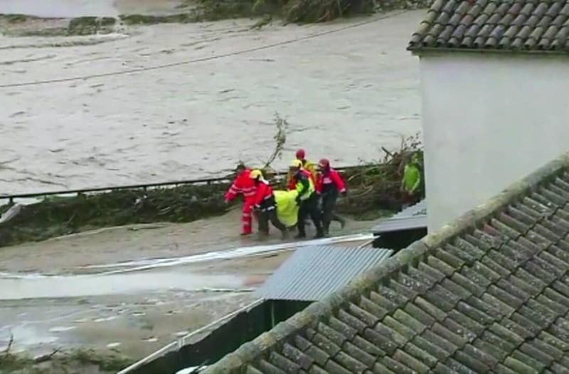 Ισπανία: 3 νεκροί από τις έντονες βροχοπτώσεις!