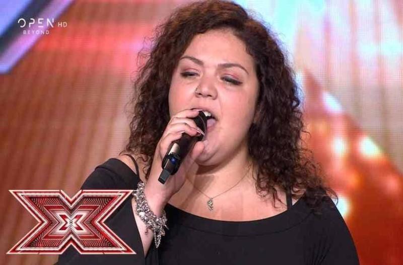 X- Factor: Η κοπέλα που ''τρέλανε'' την κρητική επιτροπή!