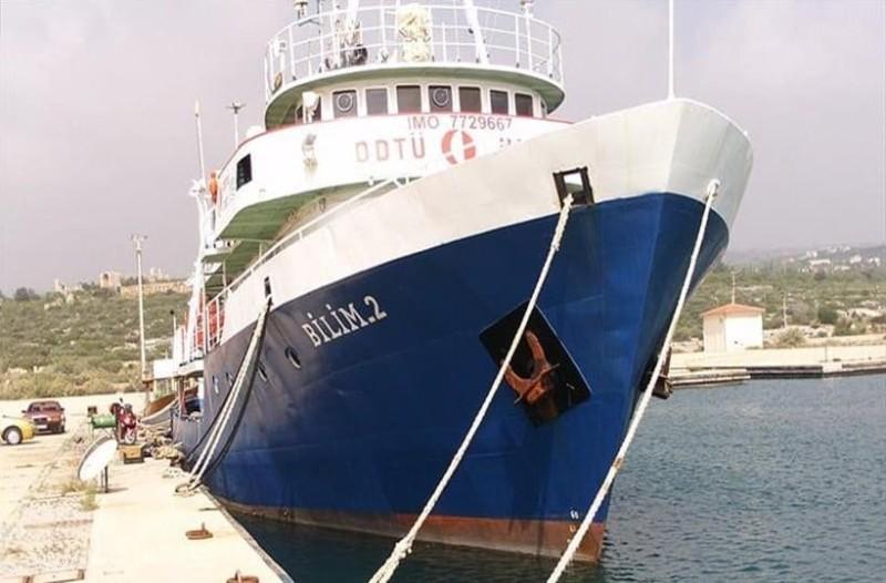 Ανοιχτά του Καστελόριζου πλέει το τουρκικό ερευνητικό πλοίο Bilim 2!