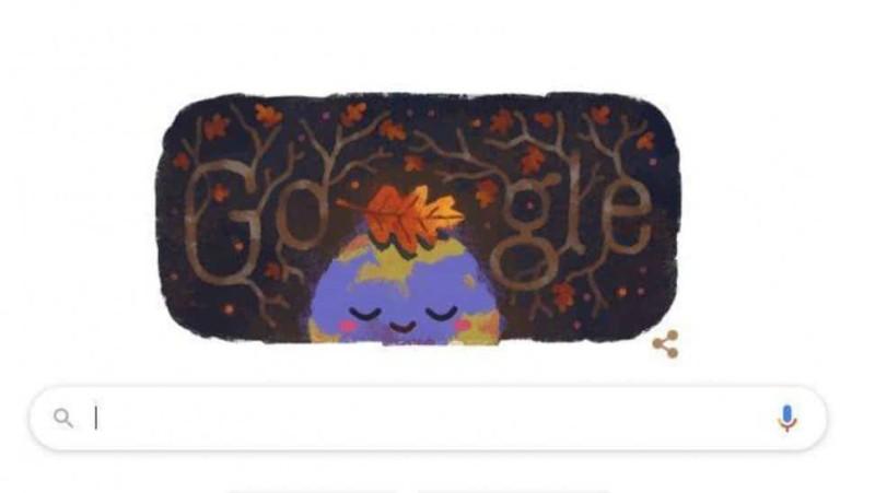 Φθινόπωρο και επίσημα από σήμερα σύμφωνα με το doodle της google!