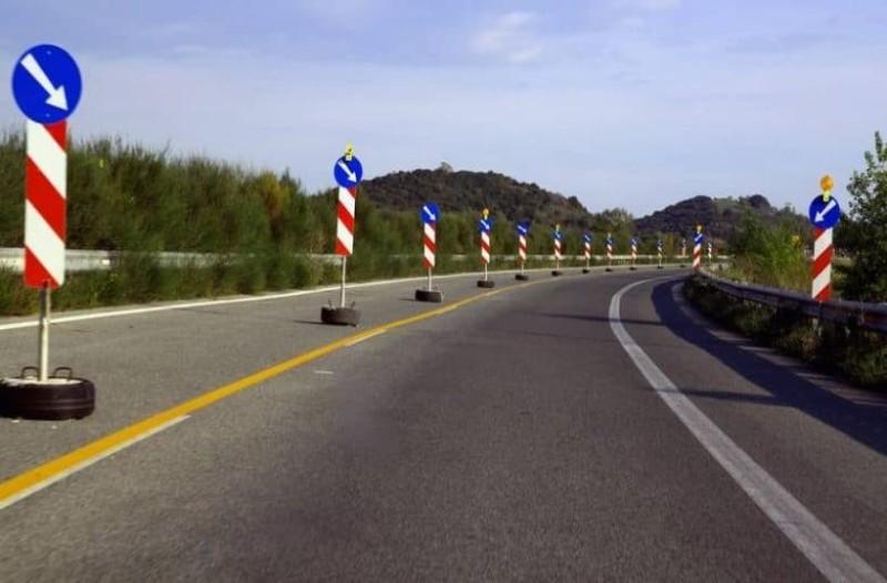 Ταλαιπωρία στην Εθνική Οδό Αθηνών - Λαμίας! Κλειστέ λωρίδες λόγω εργασιών!