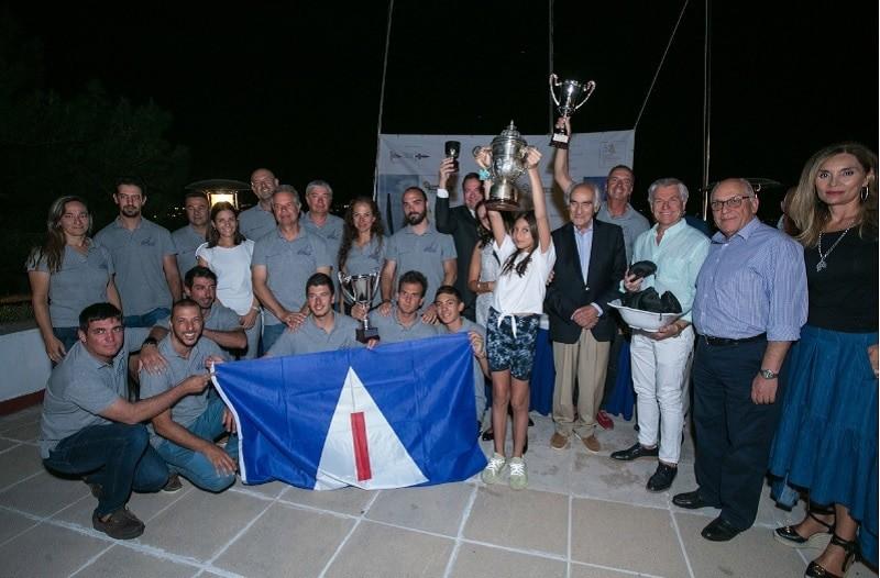 Η KOKKORIS OPTICS  βράβευσε τους νικητές του πρώτου σκάφους του αγώνα με γυαλιά ηλίου Bolle !
