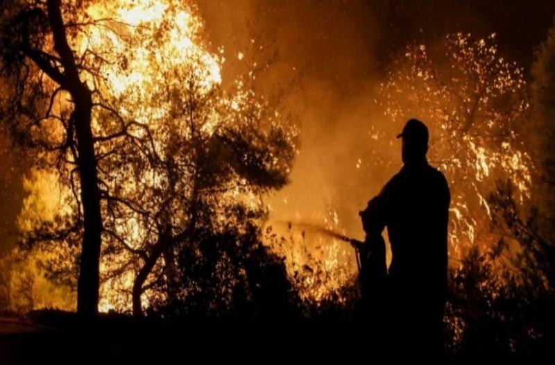 Πώς ξεκίνησε η πυρκαγιά στη Νέα Μάκρη; Βίντεο - ντοκουμέντο από το σημείο!