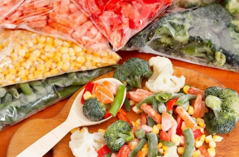 Πόσο καιρό διατηρούν τις βιταμίνες τους τα τρόφιμα στην κατάψυξη;