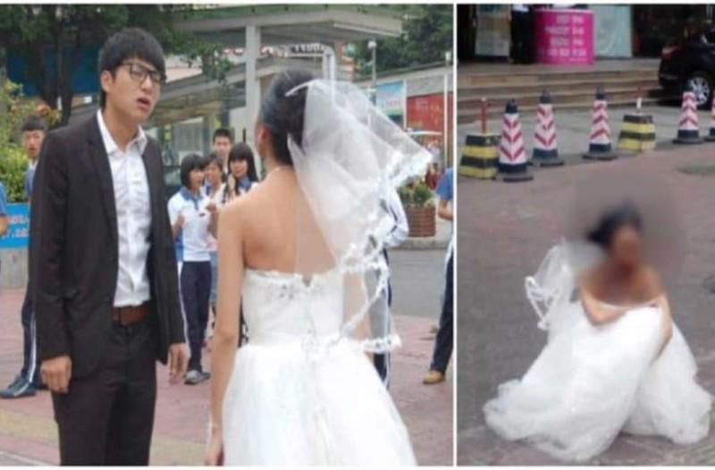 Μόλις είδε το πρόσωπο της νύφης, της ζήτησε να χωρίσουν! Δείτε την από μπροστά και θα καταλάβετε! (Video)