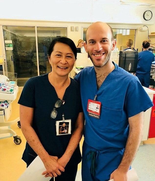 Νοσοκόμα μωρό περίεργα