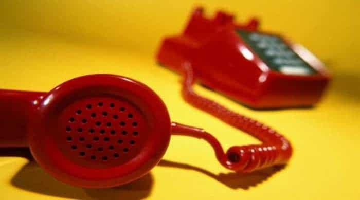 Τηλέφωνο κατάρα