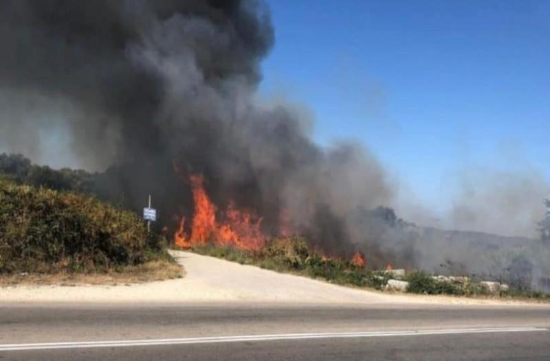 Πυρκαγιά στην αρχαία Νικόπολη Πρέβεζας!