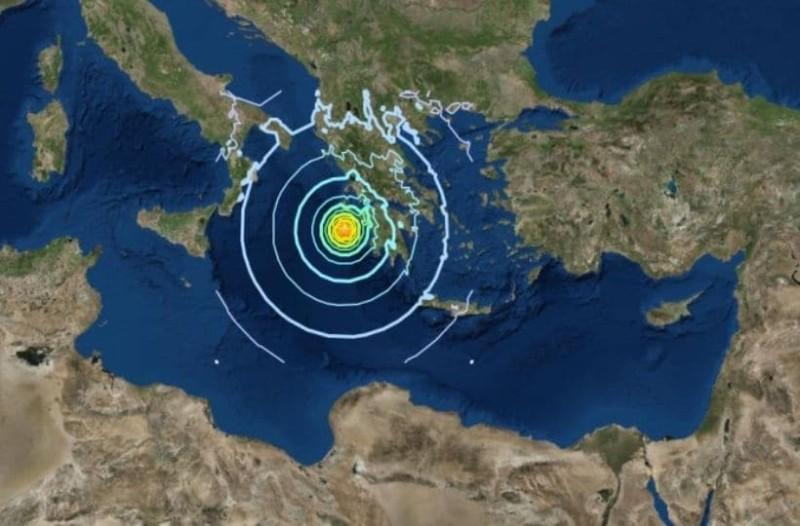 Σεισμός  «ταρακούνησε» την Κομοτηνή! (photo)