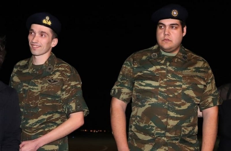 Είδηση σοκ για τους 2 Έλληνες στρατιωτικούς που είχαν συλληφθεί στην Τούρκο! Νέος εφιάλτης