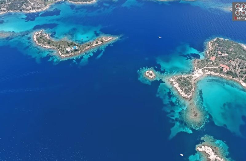 Η Χαλκιδική από ψηλά: Γιατί σαν τη Χαλκιδική...δεν έχει! (video)