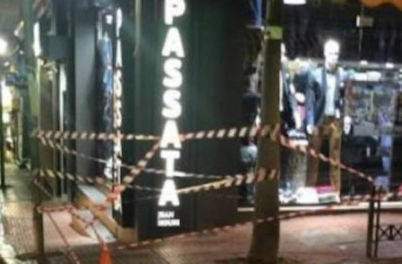 Απίστευτο: Παραλίγο τραγωδία στη Λαμία! 20χρονος σώθηκε από μάρκιζα που έπεφτε!