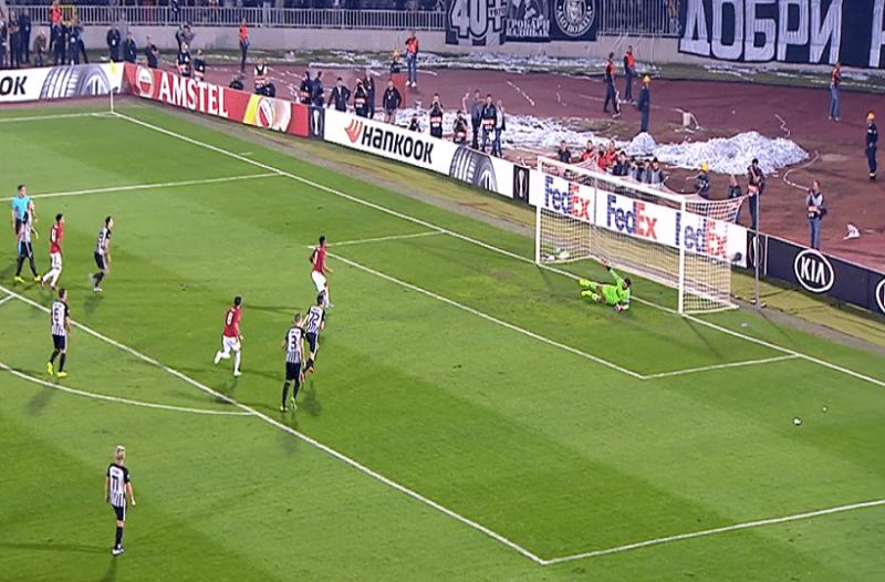 Europa League: «Διπλό» πρόκρισης για την Μαν. Γιουνάιτεντ! «Έμφραγμα» στο 94' για τη Ρόμα! (Video)