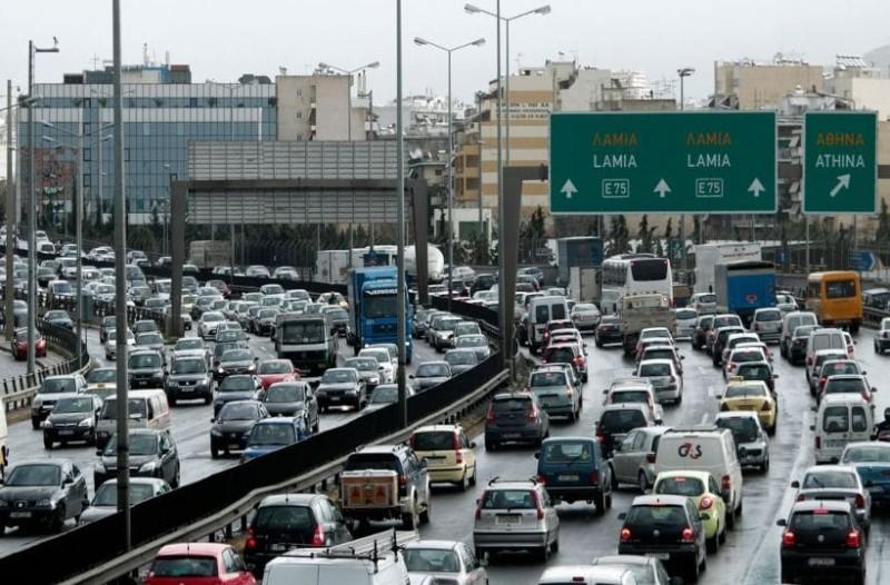Κυκλοφοριακό κομφούζιο! Αυξημένη κίνηση στους δρόμους της Αθήνας! Που εντοπίζονται προβλήματα; (photo)