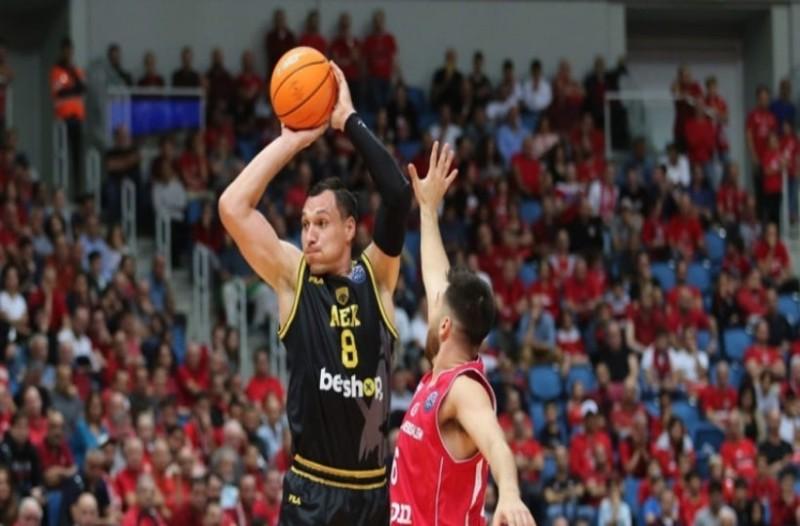 Basketball Champions League: Άδοξη ήττα για την ΑΕΚ! Έχασε 85-78 στο Ισραήλ από την Χάποελ!