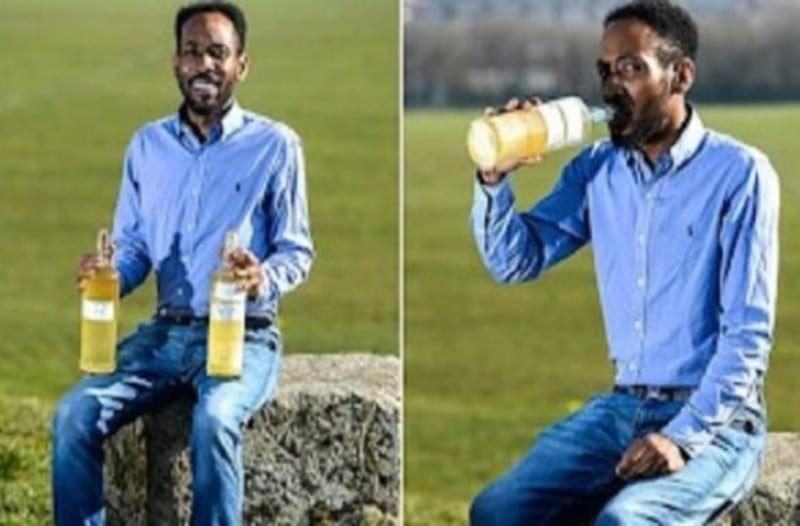 Άντρας πίνει κάθε μέρα τα ούρα του και λέει ότι νιώθει πιο υγιής, πιο όμορφος και πιο έξυπνος!