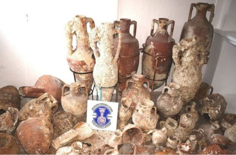 Κάλυμνος:Συνελήφθη για παράνομη κατοχή αρχαιοτήτων και ναρκωτικών!