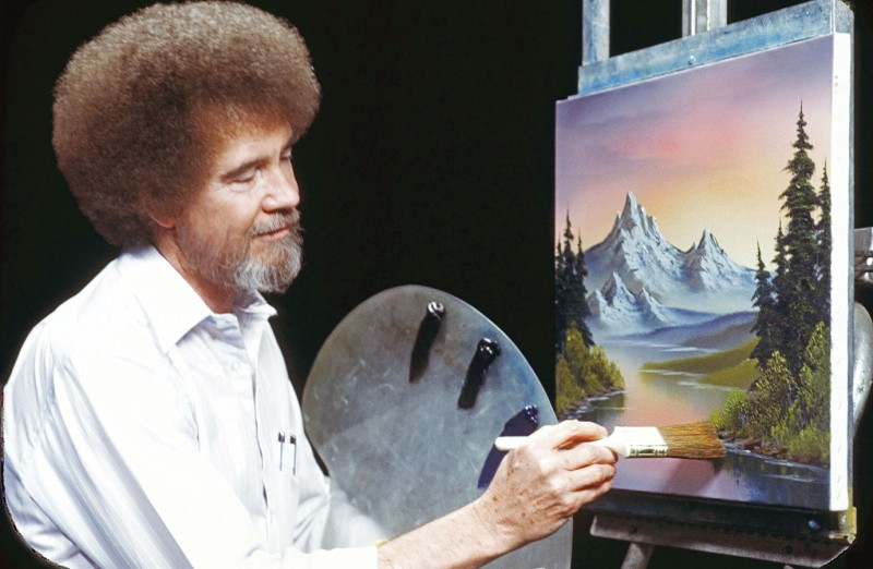 Μπομπ Ρος: Ανάρπαστα τα έργα τέχνης του γνωστού ζωγράφου!