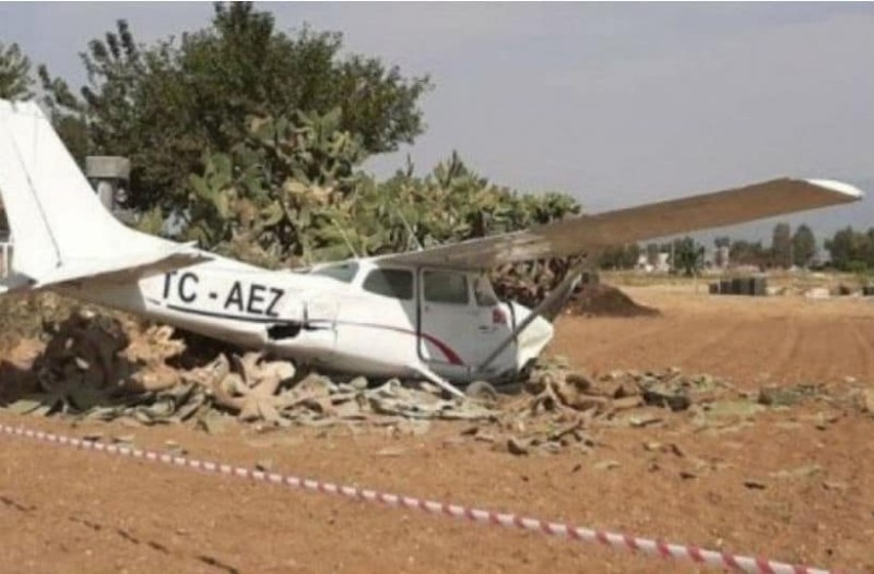 Τραγωδία: 2 νεκροί από συντριβή αεροσκάφους στα Κατεχόμενα!