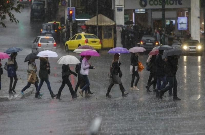 Έκτακτο δελτίο από την ΕΜΥ: Ισχυρές βροχές, καταιγίδες και χαλάζι! Αυτές τις περιοχές θα «χτυπήσει» η κακοκαιρία! (Video)