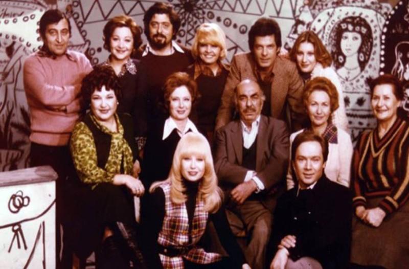Αποτέλεσμα εικόνας για Η εκπομπή που καθήλωνε για επτά σεζόν το ελληνικό κοινό και διασώζεται μόνο ένα επεισόδιο