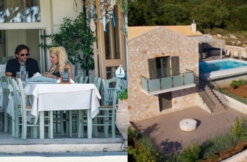 Ελένη Μενεγάκη: Η τραγωδία την έστειλε σε... σουίτα 920 ευρώ την βραδιά μαζί με τον άνδρα της!