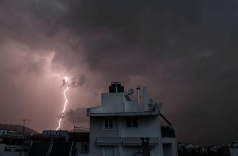 Έκτακτο δελτίο επιδείνωσης καιρού: Ισχυρές καταιγίδες και χαλάζι!