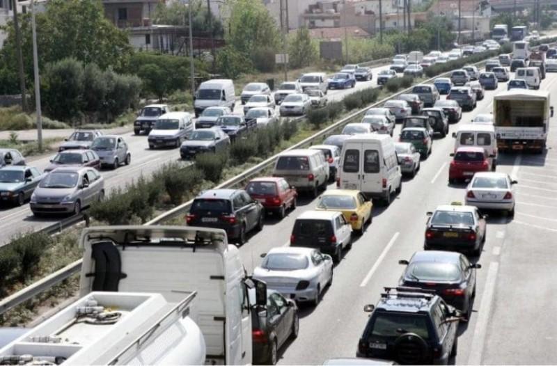 Απίστευτη κίνηση στην Εθνική Αθηνών - Λαμίας λόγω τροχαίου! Επικρατεί ένα χάος!
