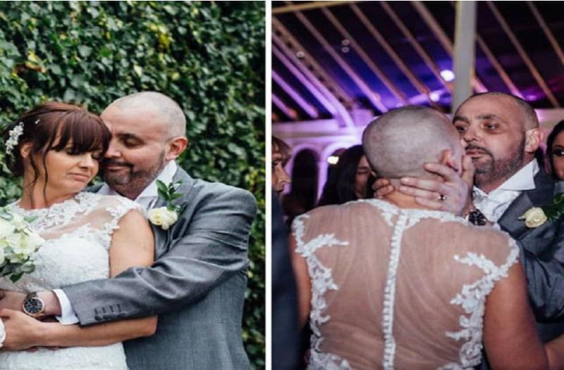 Νύφη ξυρίζει το κεφάλι της στο γάμο της. Όμως ο γαμπρός που έχει καρκίνο τελικού σταδίου τη βρίσκει πιο όμορφη από ποτέ!