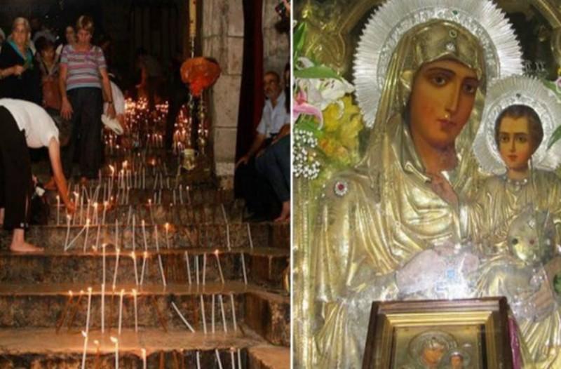 Ο τάφος της Παναγίας: Τα 49 σκαλιά για τον Τάφο – Και η θαυματουργή εικόνα Της Παναγίας της Ιεροσολημήτισσας