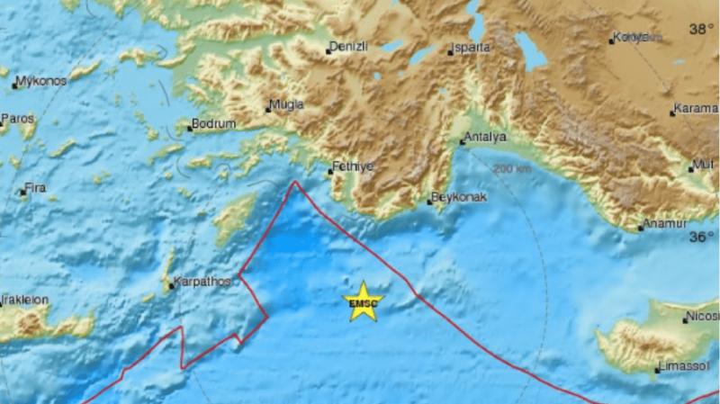 Σοκ: Σεισμός στην Ρόδο!