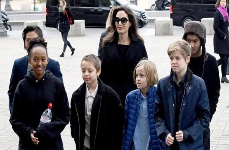 Απίστευτο: Δείτε πόσο μεγάλωσαν τα παιδιά της Αντζελίνα Τζολί!