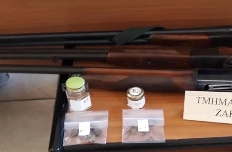 Ζάκυνθος: Εξιχνίασαν κλοπή και βρήκαν παράνομα όπλα και χρυσαφικά μεγάλης αξίας!