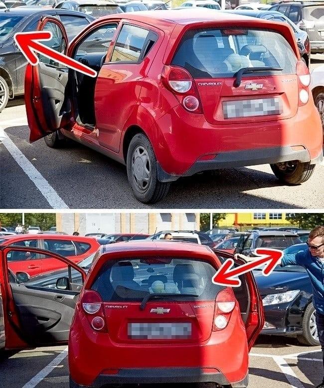 Αυτοκίνητο κόλπα φανάρια