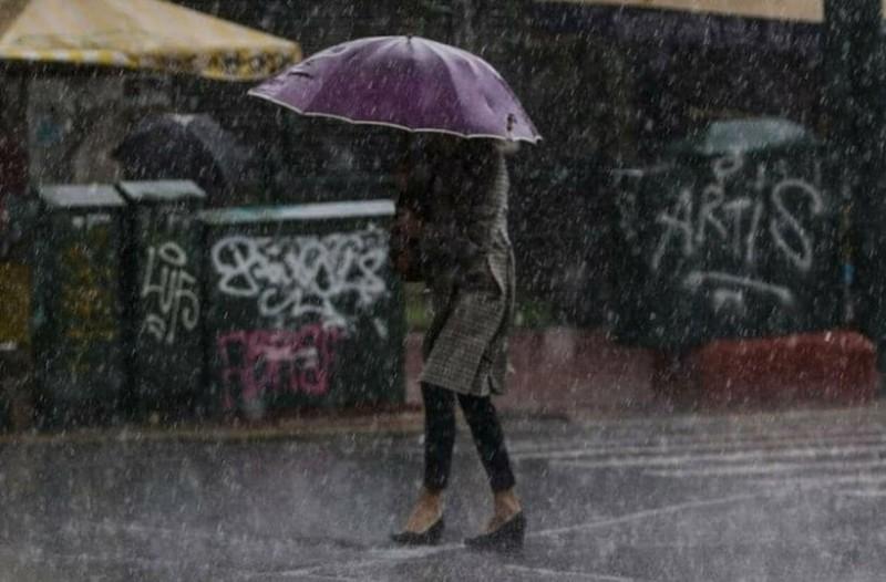 Έκτακτο δελτίο επιδείνωσης καιρού από την ΕΜΥ: Βροχές, καταιγίδες και χαλάζι!