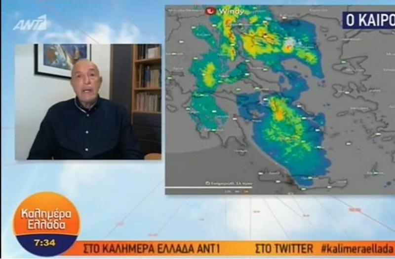Τάσος Αρνιακός: Προειδοποιεί για την ισχυρότερη κακοκαιρία του φθινοπώρου (Video)!