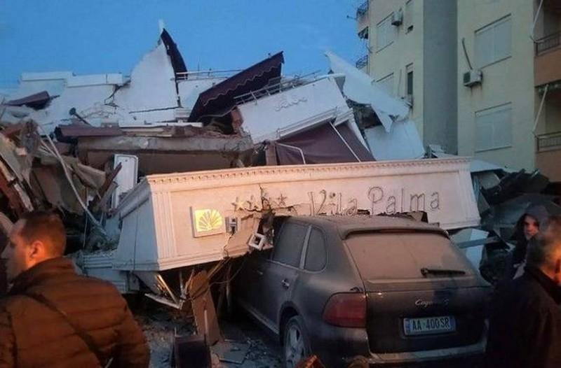 Υπάρχουν νεκροί από τον ισχυρό σεισμό 6,4 Ρίχτερ στην Αλβανία! (photos+video)