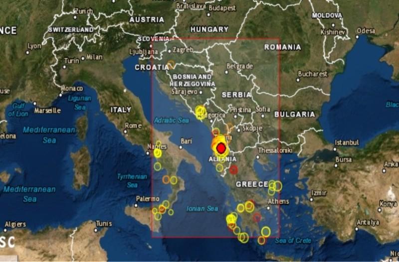 Αλβανία: Νέος ισχυρός σεισμός!