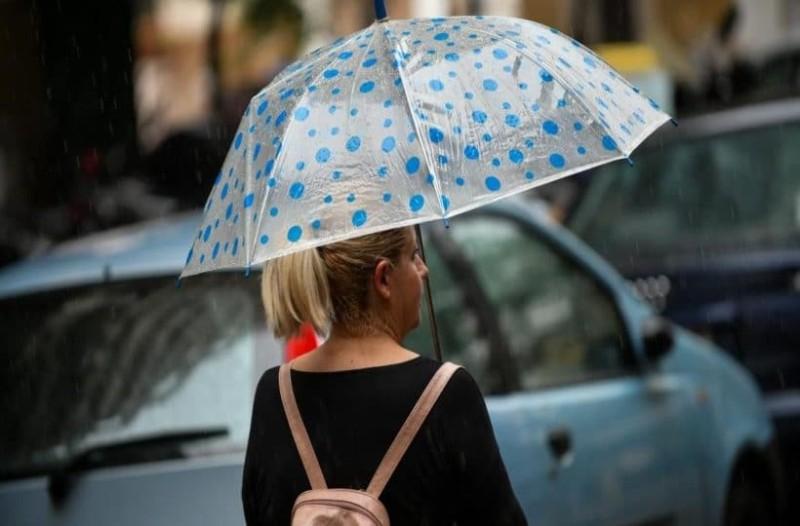 Καιρός σήμερα: Καταιγίδες σε όλη την Ελλάδα! Η ΕΜΥ προειδοποιεί!