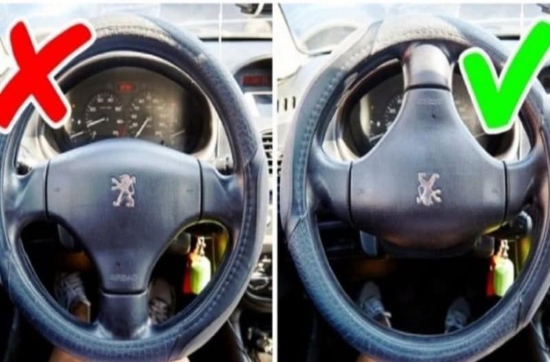 Αυτοκίνητο κόλπα τιμόνι