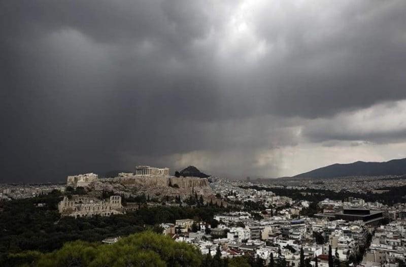Καιρός: Έντονες βροχοπτώσεις και πτώση της θερμοκρασίας!