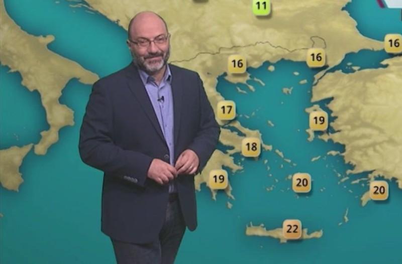 Σάκης Αρναούτογλου: Σε κλοιό κακοκαιρίας η χώρα! Νέα επιδείνωση του καιρού! (Video)