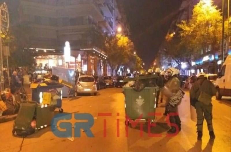 Θεσσαλονίκη: Επεισόδια στην πορεία διαμαρτυρίας για την επέμβαση της αστυνομίας στην ΑΣΟΕΕ! (video)