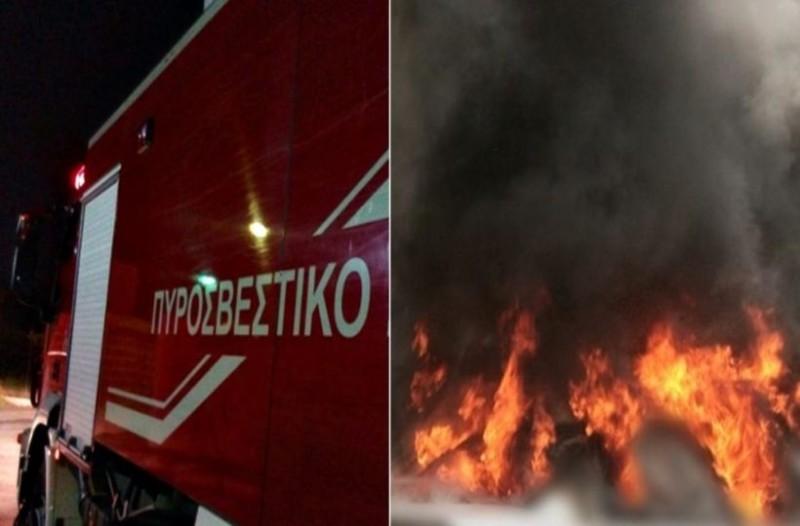 Συναγερμός στη Θεσσαλονίκη: Έπιασαν φωτιά μηχανή και 2 αυτοκίνητα!