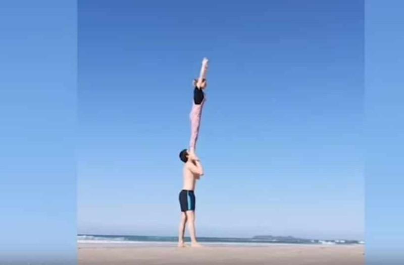 Αν θέλετε να γυμναστείτε σωστά με το ταίρι σας... πρέπει να δείτε αυτό το βίντεο!