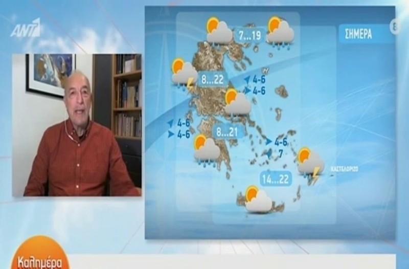 Το περίεργο φαινόμενο του σημερινού καιρού!  Η ανάλυση του Τάσου Αρνιακού! (Video)